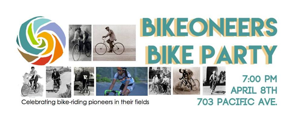 The Bikeoneers Ride! Friday, April 8th – 7pm