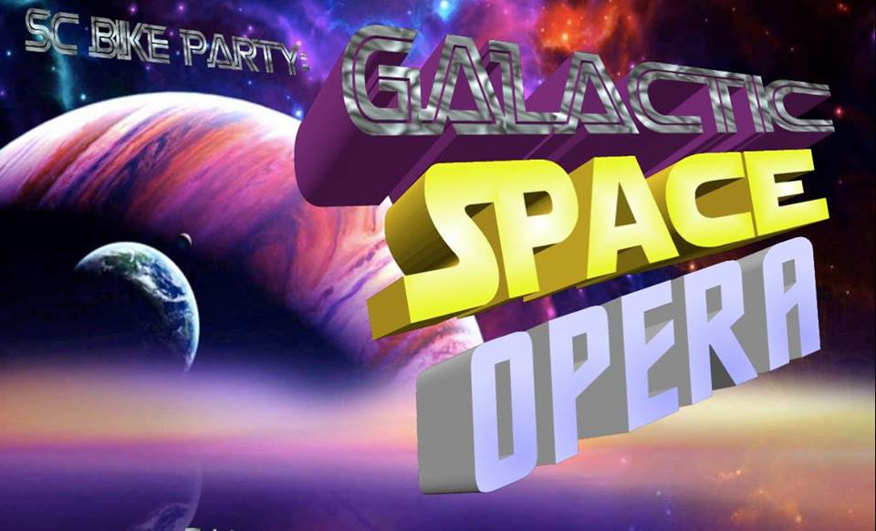 Gallactic Space Opera Ride – June 8th, 7pm