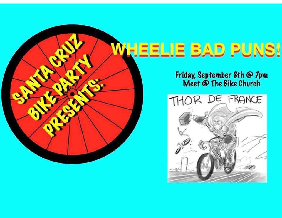 Wheelie Bad Pun Ride