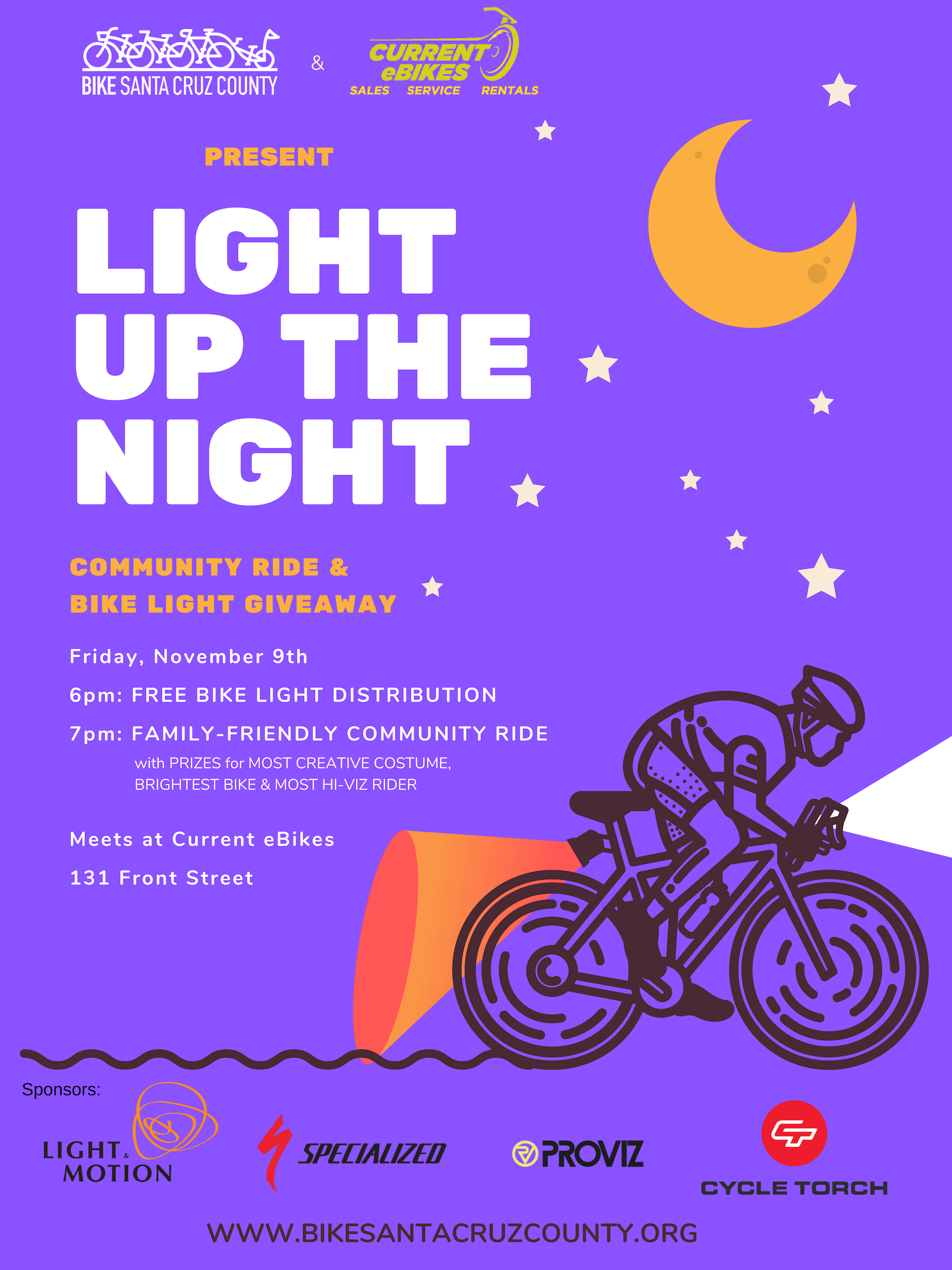 SC Bike Party: Light Up the Night